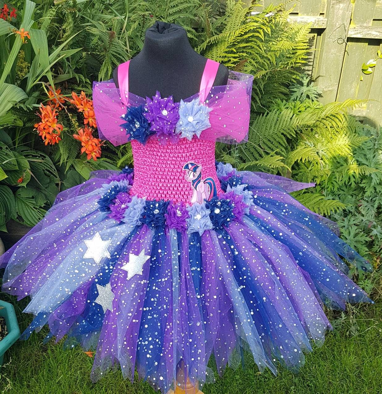 Tutu Dress With Tail Twilight Sparkle Inspired Tutu Unicorn Etsy Purple Tutu Dress Lilac Flower Girl Dresses Purple Tutu [ 1276 x 1236 Pixel ]
