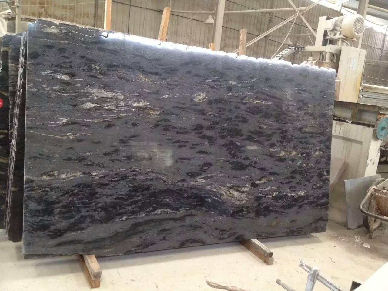 Matrix Titanium Granite Slab Granite Countertop