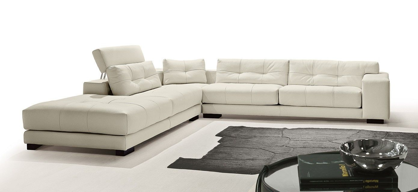 Soleado Sectional, Gamma International, Italy | Luxurious Leather ...