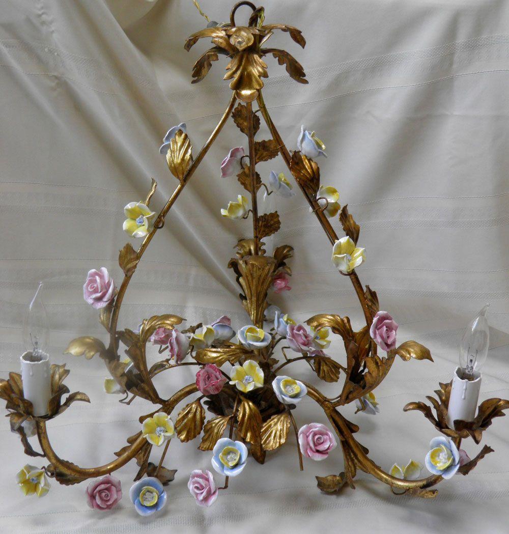 Confirm. vintage chandolier hanging porcelain roses congratulate