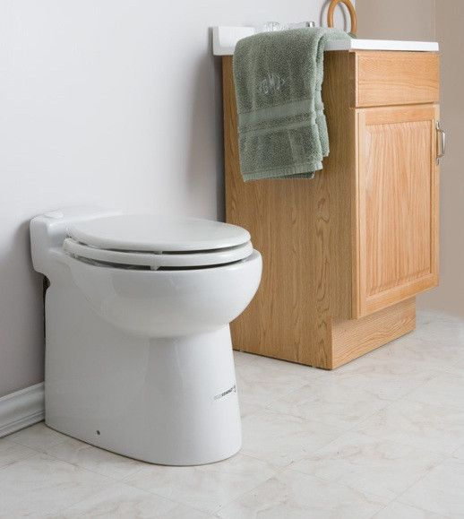 Sanflo Sanicompact Macerating Toilet Installed Basement In