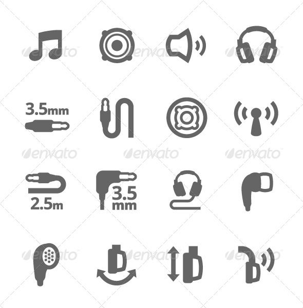 Simple Set Of Headphones Related Vector Icons For Your Design Icon Design Inspiration Icon Icon Design