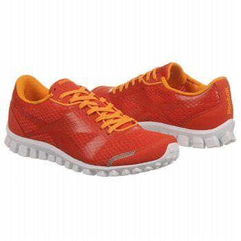 cd02c44b6e3053 Reebok RealFlex Optimal Shoes (Orange Orange White) - Men s Shoes - 9.0 M