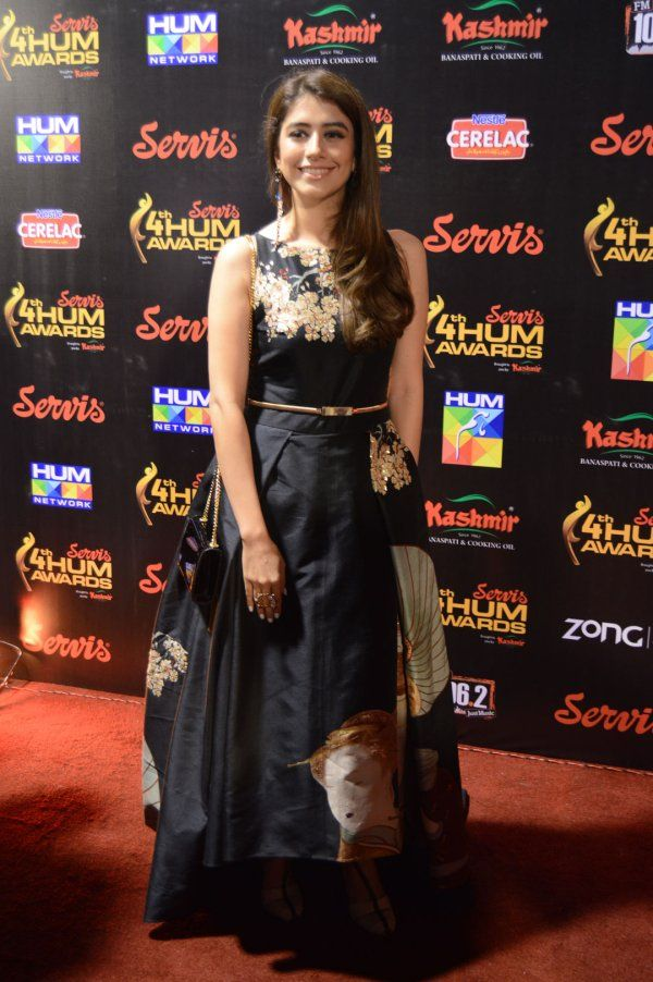 9338031d4f Syra Shehroz in a lovely printed evening gown by Shehla Chatoor ...