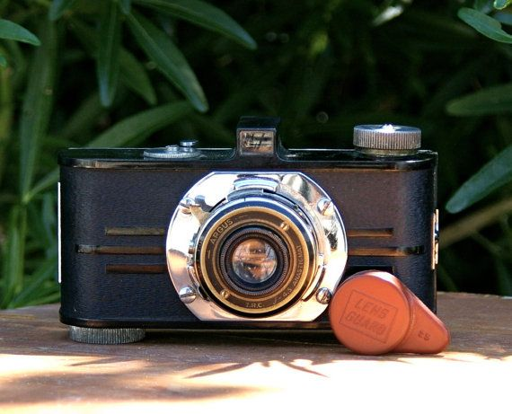 Antique Argus A 35mm Art Deco Style Camera with by CanemahStudios, $38.00