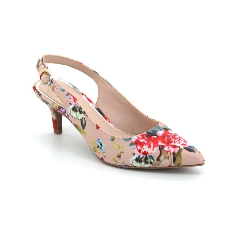 2bd416b722e Bata Red Label Women Heels Pink Floral - Heels - WOMEN