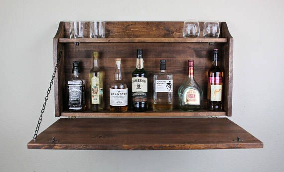 You may not have a hidden cellar for your top shelf ...