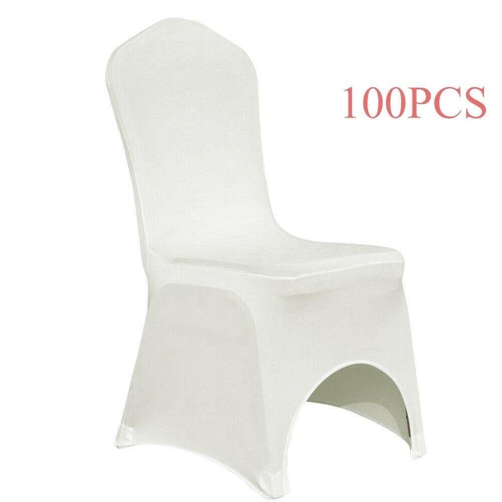 Ebay Sponsored 100x Stretch Spandex Chair Cover Wedding Party