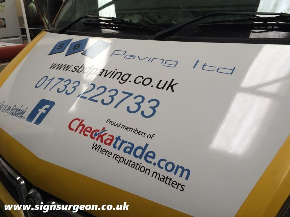 Commercial Wrap By Sign Surgeon Peterborough Business