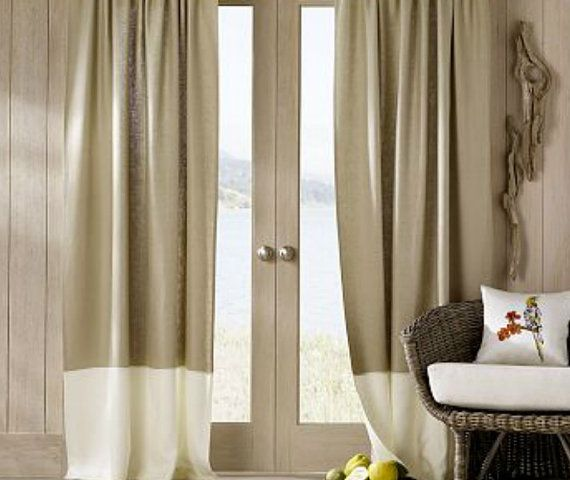 Color Block Curtains Color Block Drapery By Customcurtainsbeyond