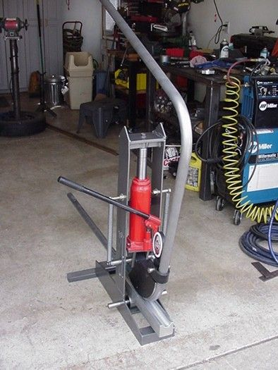 DIY TUBE BENDER | Garage | Tools, Garage tools et ...