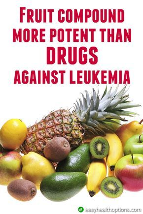 Fruit compound more potent than drugs against leukemia