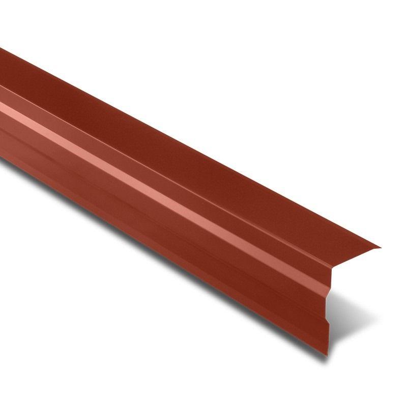 Bande De Rive En Acier Revetement Polyester 25 µm De 2100mm Existe En Trois Coloris Rouge Tuile Gris Anthracite Et Bleu Ardo Bande De Rive Acier Tole Acier
