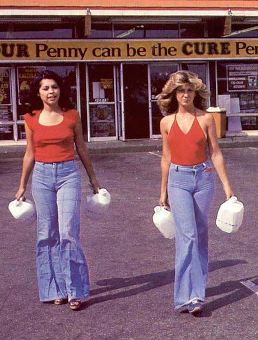 45 Incredible Street Style Shots From The '70s (Le Fashion) N #lefashion
