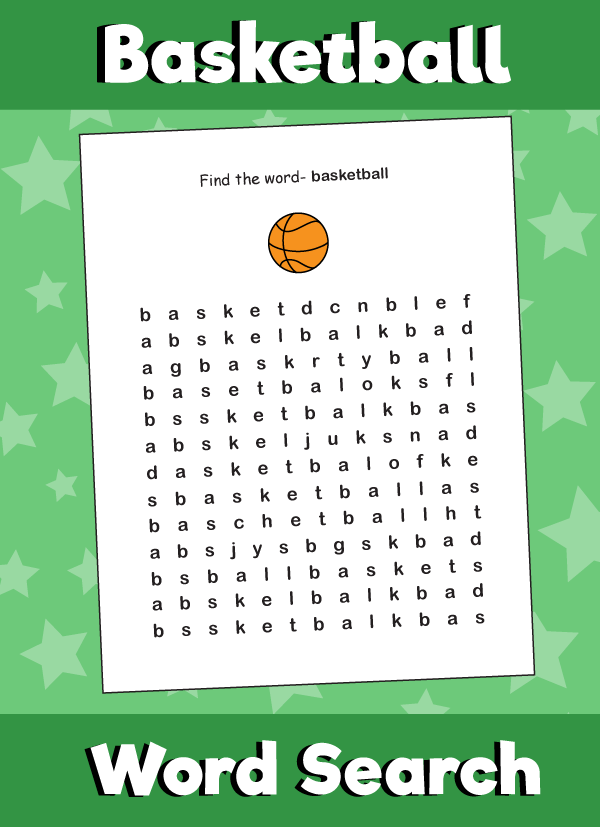Basketball - Word Search Puzzle | Word search puzzle ...