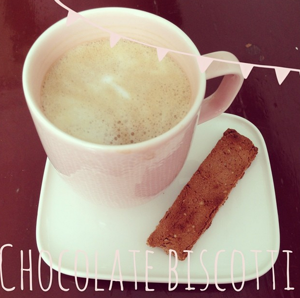 Chocolate Biscotti! Shared by hannatonesitup!
