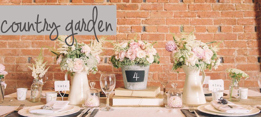 English Garden Wedding Ideas | Country Garden Wedding Decorations ...