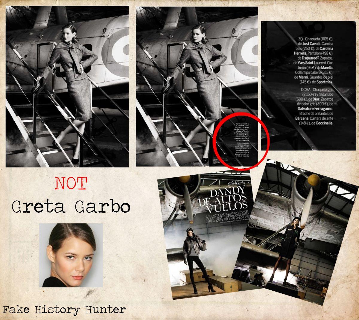 NOT Greta Garbo in 2020