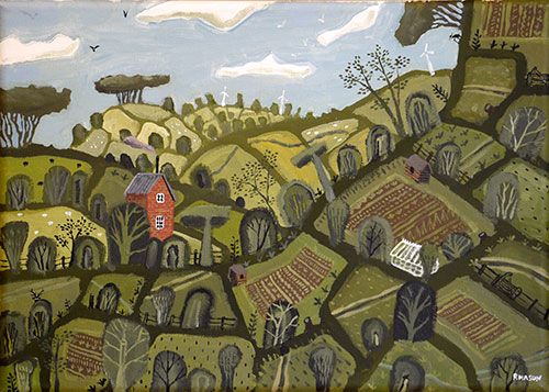 """Allotments at the Smallholding"" by Rob Mason"