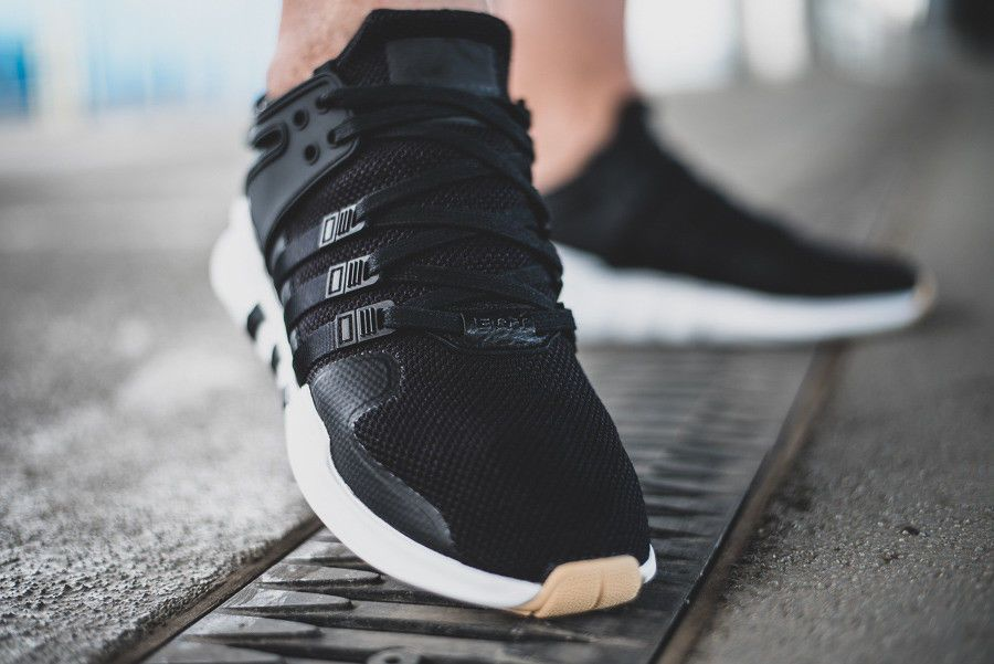 promo code 681db faeed adidas EQT Support ADV  Core BlackGUM  Mens Trainers B37345 adidas  RunningShoes