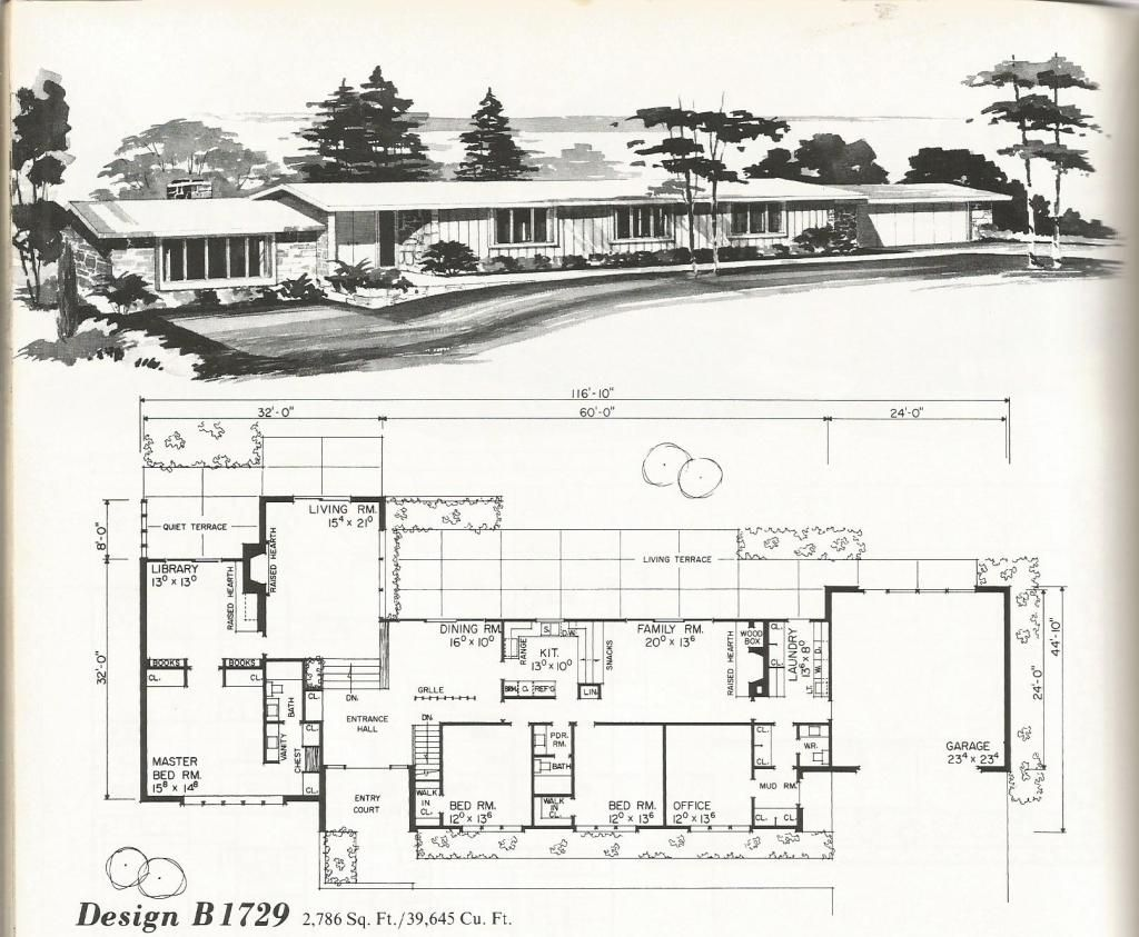 Pull This Up Lots Of Choices Vintage House Plans Vintage Homes Mid Century Homes Vintage House Plans Vintage House Ranch House Plans