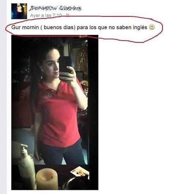 Para Los Que No Saben Ingles Funny Spanish Jokes Humor Memes