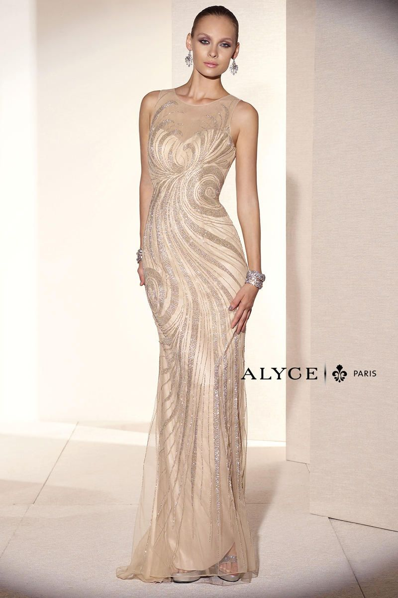 Alyce Black Label 5672 Alyce Paris Black Label Chique Prom Raleigh