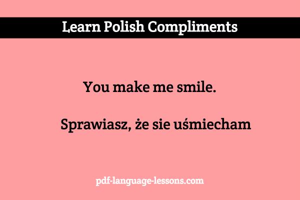 How to say beautiful girl in polish