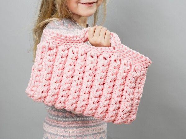 Häkel Dir Eine Lässige Und Praktische Tasche Für Kleine Und Große