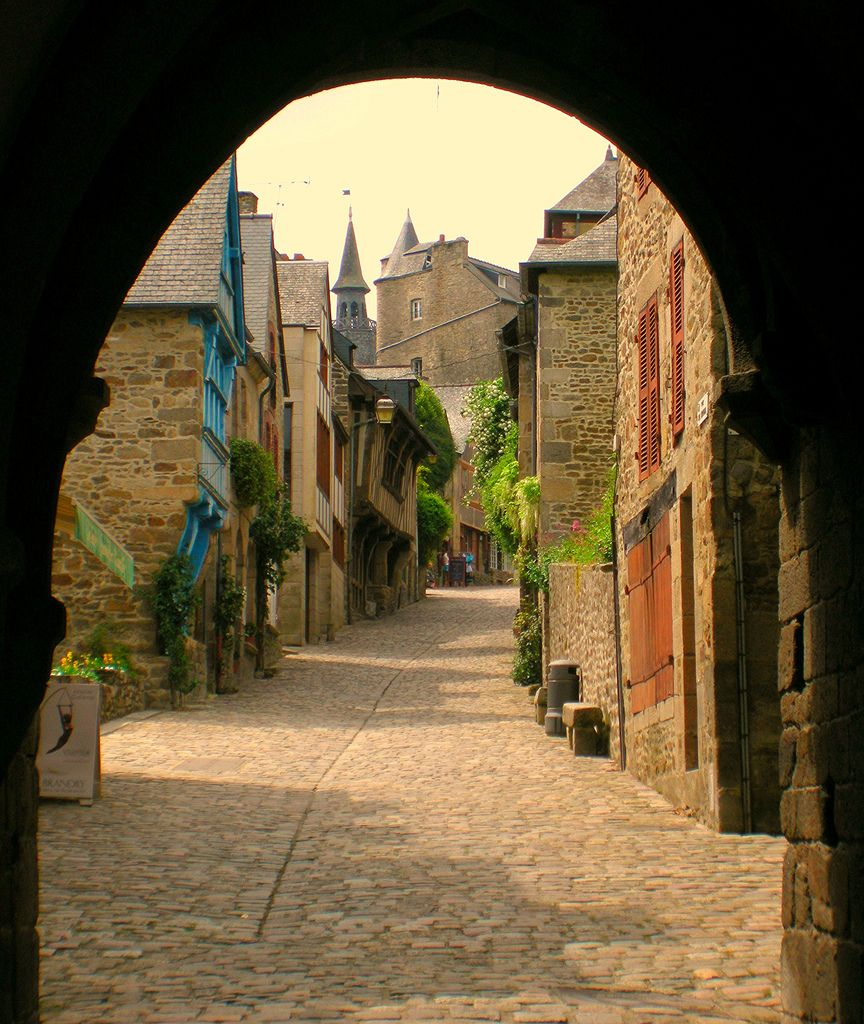 medieval walled city of dinan brittany france travel on walled id=92870