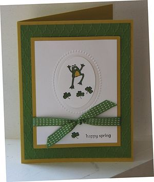 March's Stamps by Mail Kit - Card #1