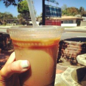 Dirty Chai, Mead's Green Door Cafe #coffee #IHeartOnTheHunt #OldTowneOrange