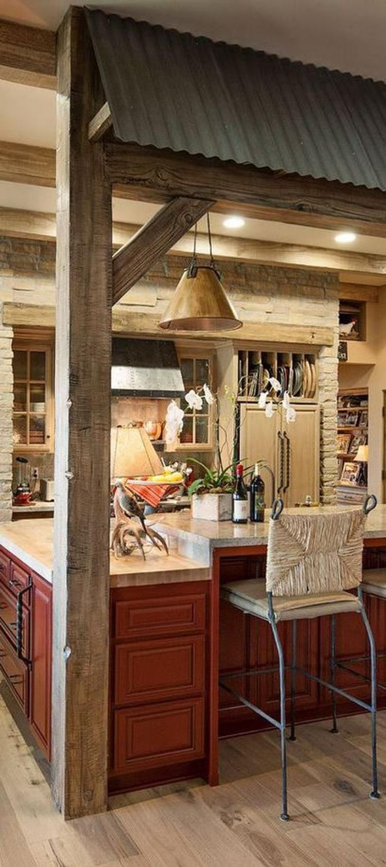 100+ Best Rustic Western Style Kitchen Decorations Ideas | Pinterest ...