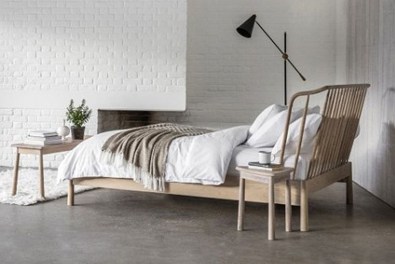 Solid Look Wycombe Bed From Gallery Direct Oak Bed Frame King