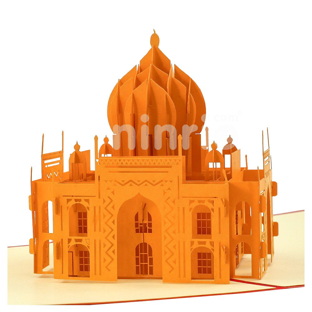 The Taj Mahal Meaning Crown Of The Palaces Is An Ivory White