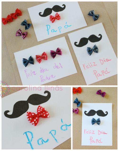 Tarjeta dia del padre hecha a mano d a del padre - Ideas regalos para padres ...