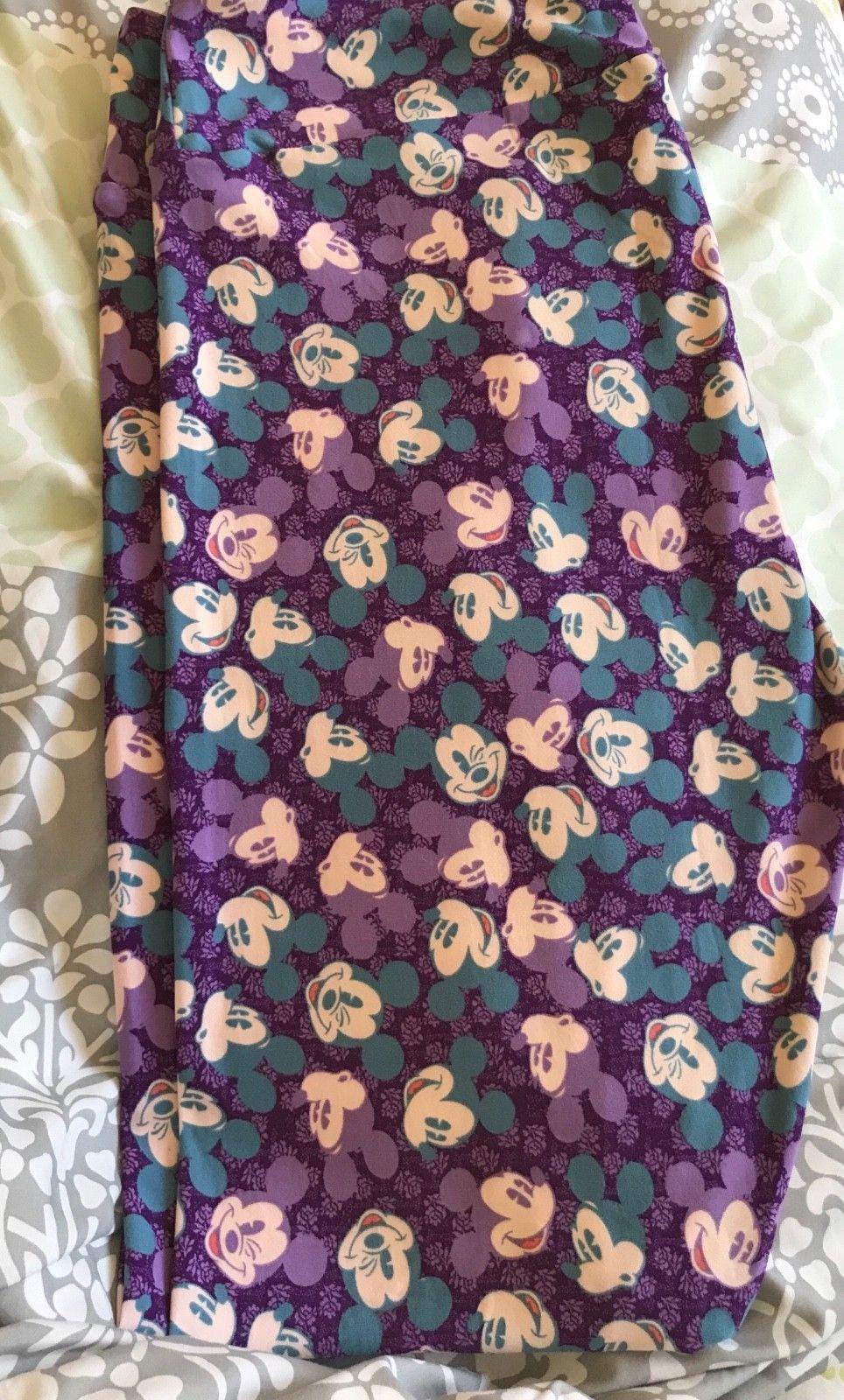LuLaRoe TC Disney leggings, Mickey, purple, new! Unicorn!