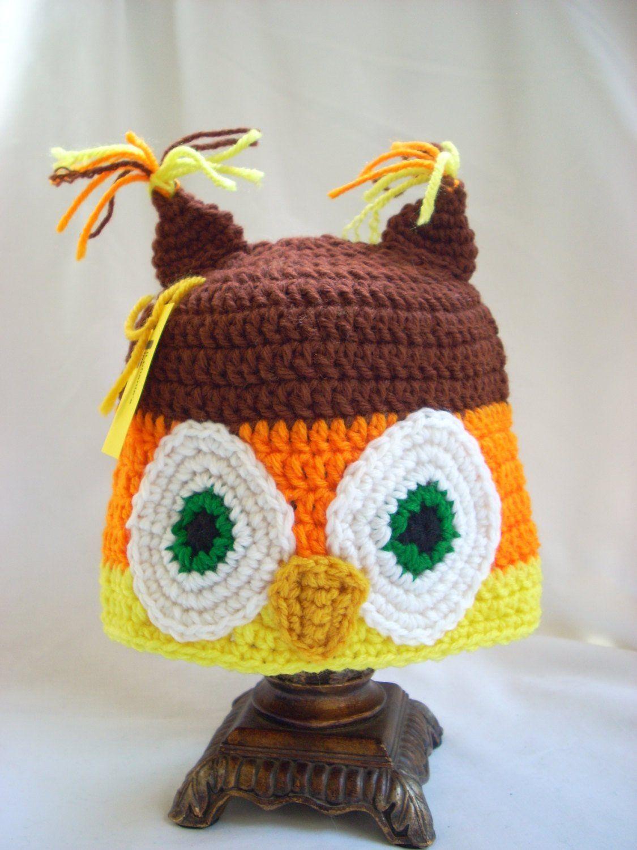 1ba35a0df62 Owl Hat Toddler