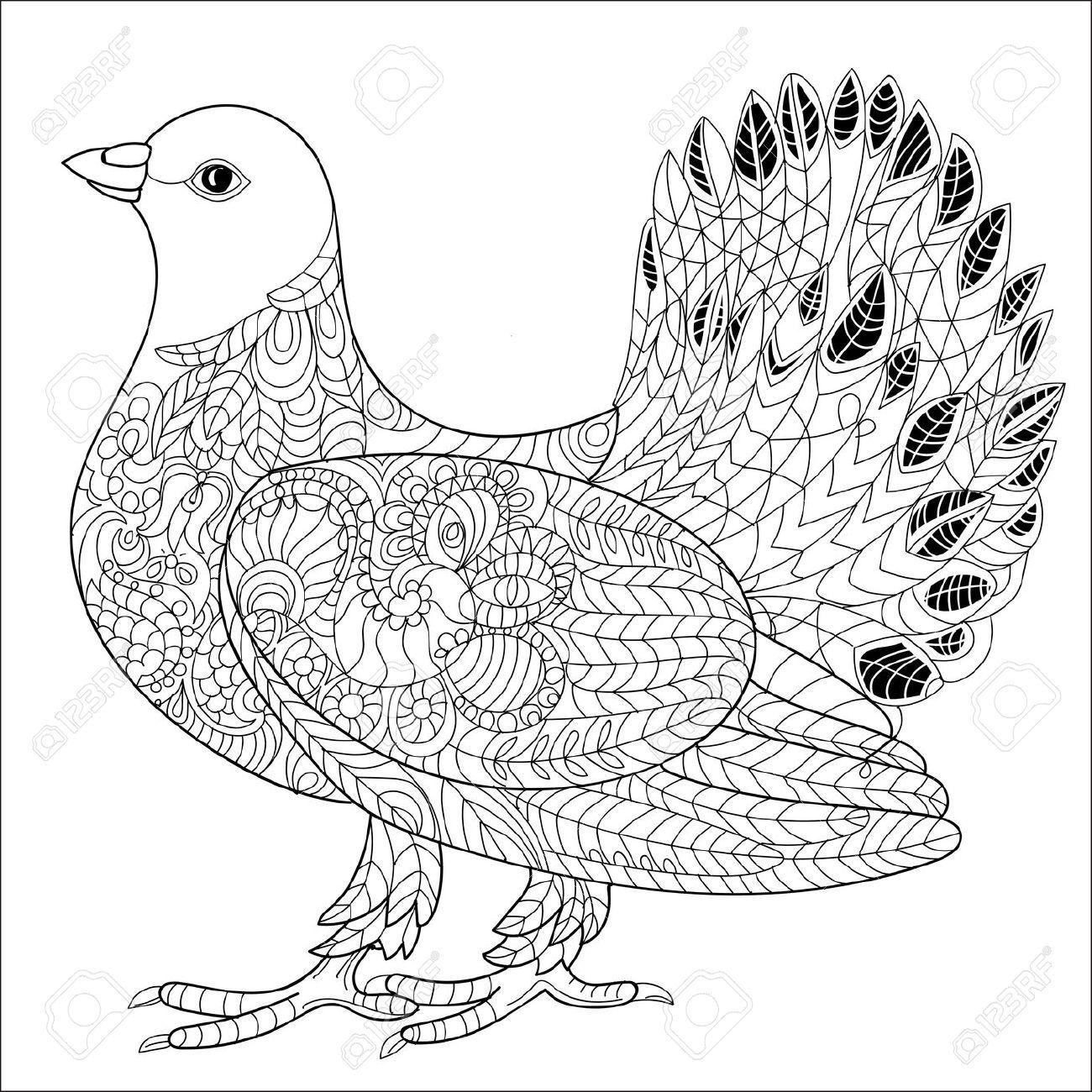 Lujo Libro De Colorear De Pájaro Enojado Fotos - Dibujos Para ...