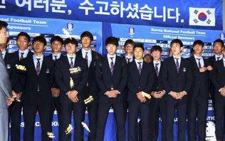 Após eliminação na Copa, Coreia do Sul é recebida com insultos e chuva de balas - Home - iG