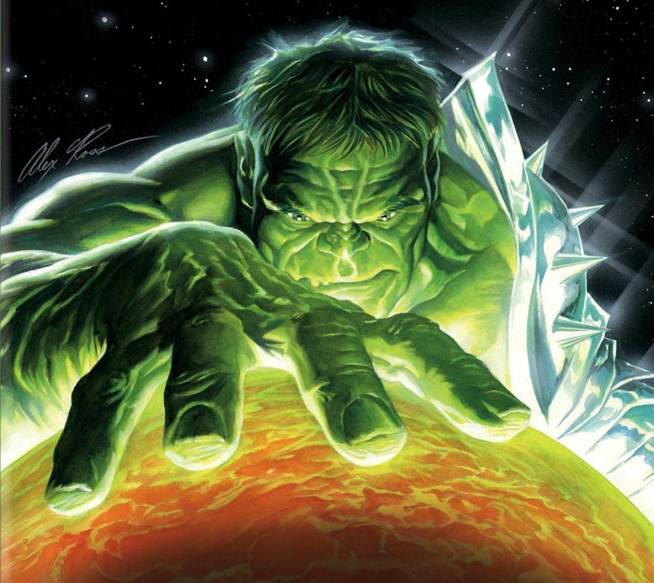 Planet Hulk •Alex Ross