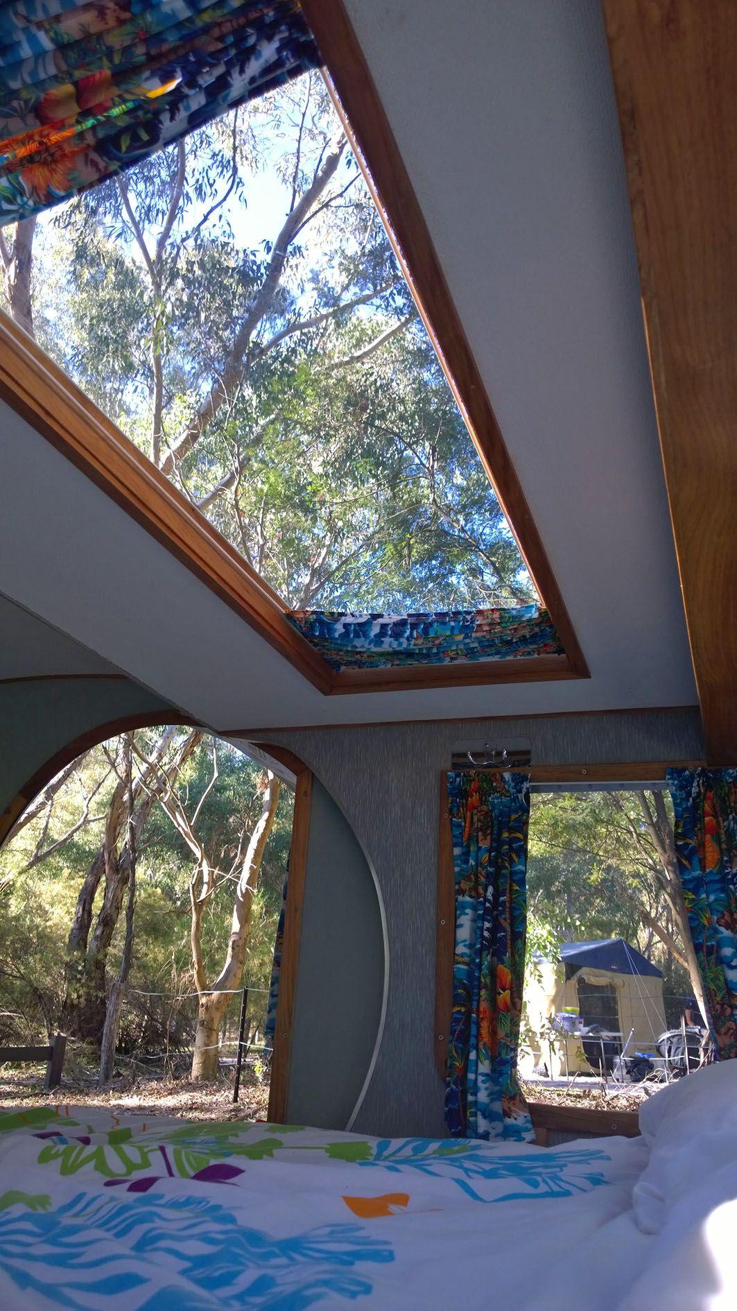 Girraween national park teardrop camper interior diy