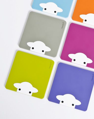 Herdy Peep Coasters now available at DownTown Knits!