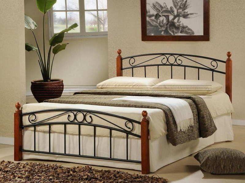 Metal Platform Bed Frame Metal Bed Frame Design For Beautiful Room