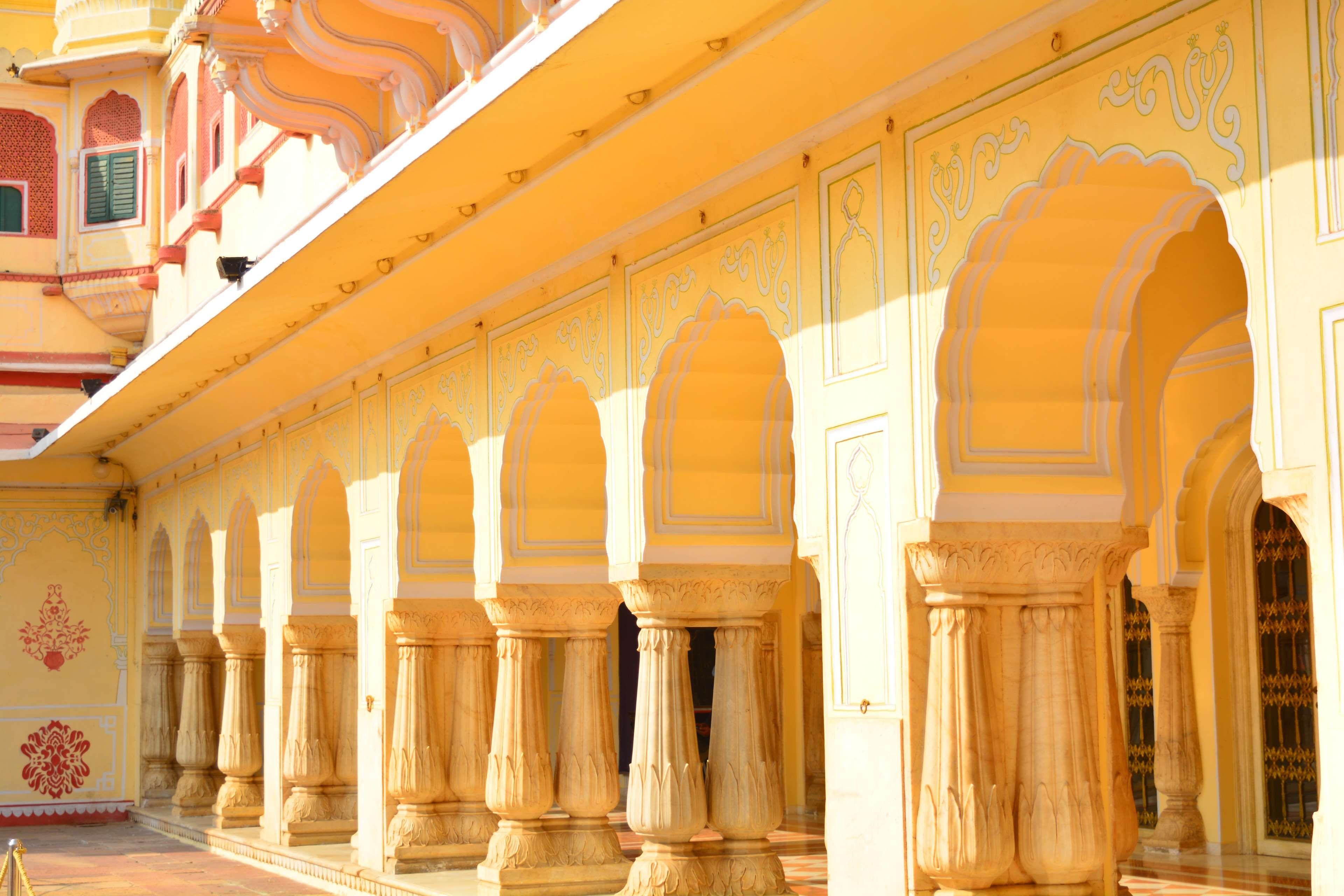City Palace Heritage India Jaipur The Pink City Cool Wallpaper Jaipur Wallpaper