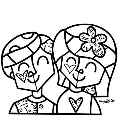 Couple Britto Pinterest Couples and Craft