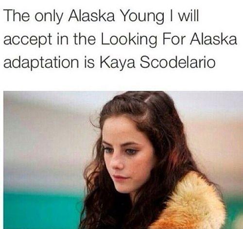 Looking for alaska kaya scodelario