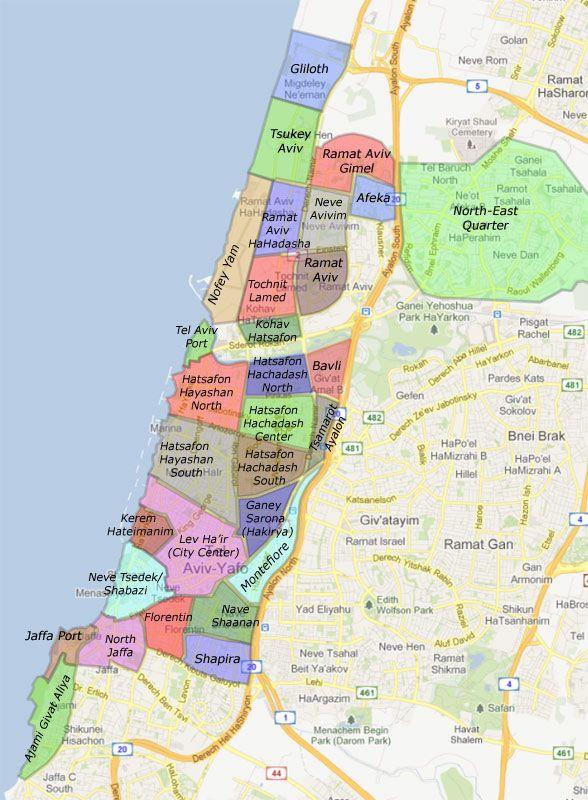 Search Tel Aviv Neighborhoods for Apartments for Sale tel aviv