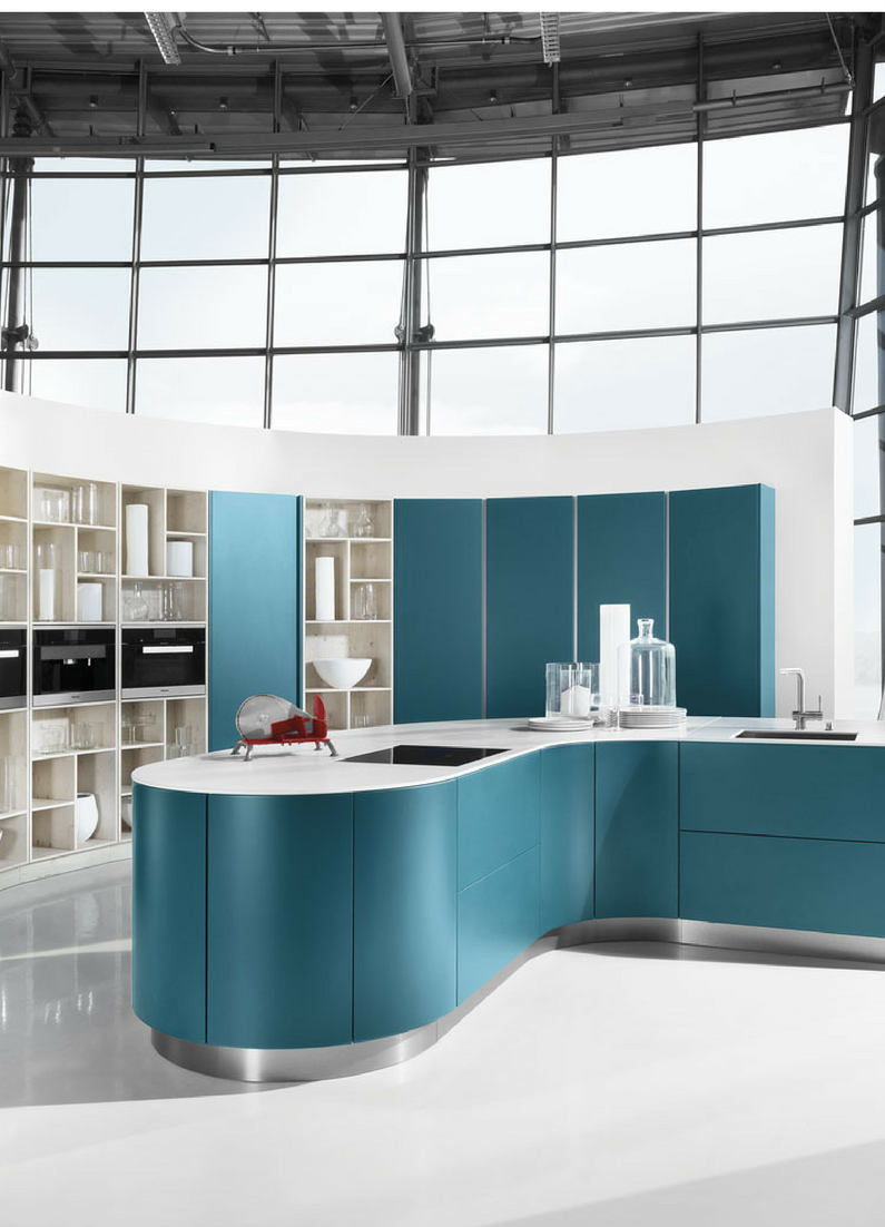 9 k chen farbkonzepte ideen bilder und beispiele f r die farbgestaltung runde k che k che. Black Bedroom Furniture Sets. Home Design Ideas