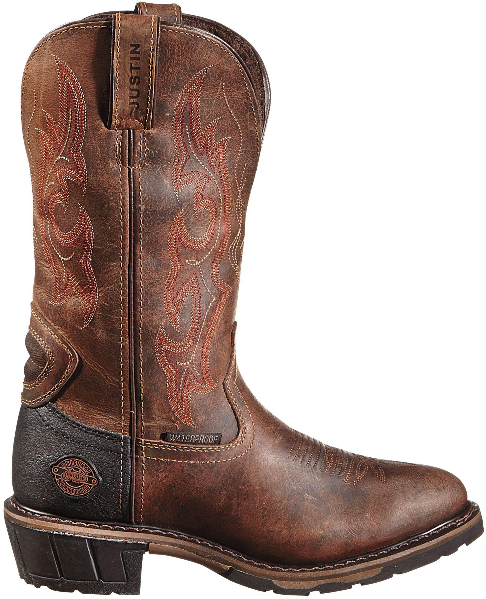 Rugged Utah Hybred Work Boots